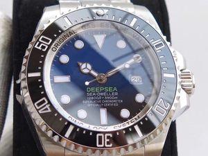 U1 заводские мужские часы глубокий керамический безель морской житель Сапфир Цистал нержавеющая сталь с застежкой скользящего замка автоматические механические мужские часы