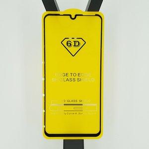Cubierta completa 6D 9D Protector de pantalla de vidrio templado AB Pegamento borde a borde PARA Huawei Honor 10 Lite 2019 Mate 20 lite P30 P30 LITE Honor V20 100P