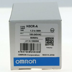 تتابع NEW OMRON H3CR-A 220VAC الوقت 50 / 60HZ 8 PINS مع قاعدة # XR