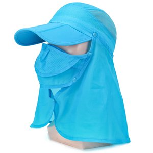 Unisex Fishing Cap Outdoor Cycling Sun Shade Hiking Breathable Quick Drying 56-60cm Hat Windproof Sunshade