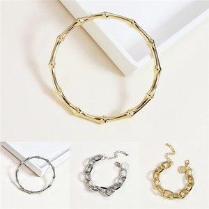 Bracelet Gourd Bracelet Jewelry Women Wedding Jewelry 18K Gold Plated Sterling Chain Length 16 + 1.5 + 1.5Cm1#701