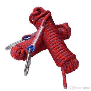 Commercio all'ingrosso di 20m / 30m professionale Rope Climbing Outdoor Escursioni Accessori diametro 10mm ad alta cavo di sicurezza elasticità cavi corda