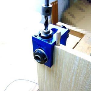 Freeshipping Woodworking Pocket Hole Jig Kit Step Drilling Dowelling Jig Set Carpintería Wood Dowel Drilling Guide Localizador Herramienta
