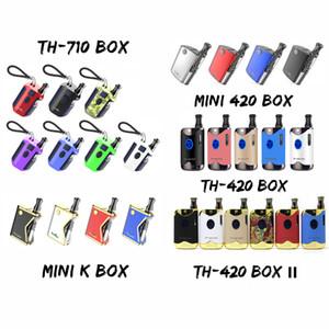기존 Kangvape Vape Box Mod 키트 TH-420 II 미니 K 미니 420 TH-710 TH 410 전체 키트 E 담배 스타터 키트 두꺼운 오일