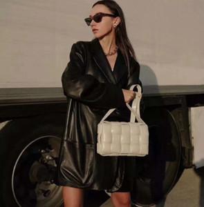 el nuevo estilo de la moda! Cuero de las señoras bolsa de mensajero de las mujeres temperamento bolsa de verificación informal de negocios bolsa de hombro de alta calidad Joker