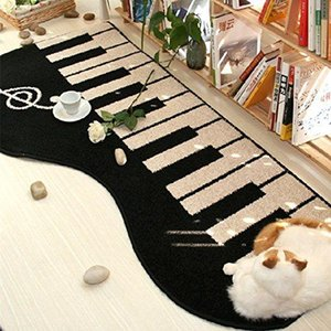 WINLIFE Modern Piano Soggiorno Mat, Moda Piano Bagno Moquette, progettista della cucina Tappeto