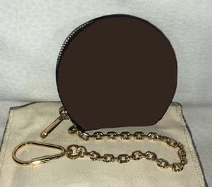 زهرة بنية محفظة العملة المعدنية M63597 أو محفظة القطن ، العميل المعين المنتج