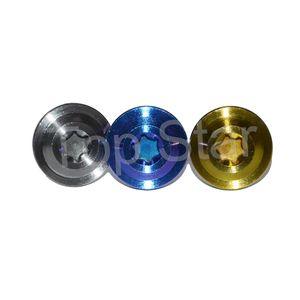 Tornillos de titanio de cabeza Torx grado 5 Tornillos de titanio M6 x 12 mm para carreras de tornillos de motocicleta Sujetadores 2 PCS