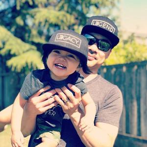 Hijo de Nueva Lengend lega Snapbacks Padre Para gorra de béisbol del bebé, Hip-hop Golf papá casquillo ajustable en 2019
