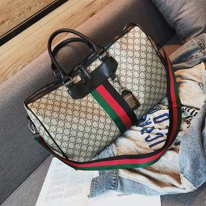Männer Duffle Bag Frauen Reisetaschen Handgepäck Reisetasche Männer PU-Leder-Handtaschen Große Umhängetasche Totes