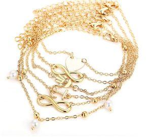 Handketten-neue Wachs-Seil-Schildkröten waren die alte Farbe des Silber-drei, die alte Weisen die Schildkröten-Strand-Fußkettchen-Großhandel wieder herstellt