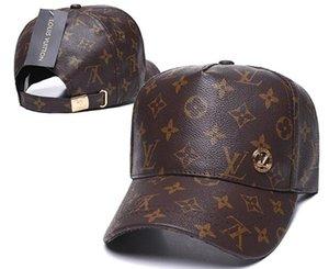 Luxus Damen Herren Marke Designer L Sommer-Art-V beiläufige Kappe Beliebte Paare Retro Baseball Avantgarde Patchwork Art und Weise Hip Hop-Kappe 08