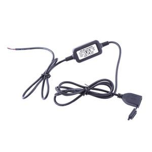 Moto USB Charger DC 12V Vers 5V Adaptateur Alimentation Pr Telefono Alimentazione GPS Port zoccolo dell'alimentazione elettrica del caricatore impermeabile per il motociclo