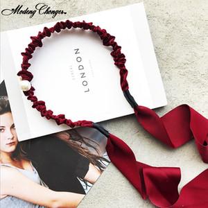 2020 Neue Quaste Hair Neuheit Haar Anzeigetafel für Frauen-Mädchen-süßen Bogen Einfachen Streamer Quaste Stirnband Pandent Haarschmuck