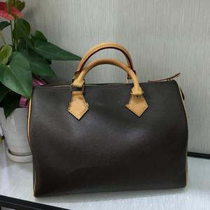 2020Top qualité femmes cuir 30 rapides sac à bandoulière sac à main 25 rapides style classique Brown designer handbags Ladies 41108 EMBRAYAGES