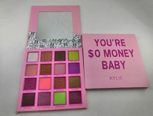 2019 Neueste Augen Make-up Ky Lidschatten-Palette Geld Baby-Lidschatten-Palette 16 Farben Mattschimmer Lidschatten-Palette