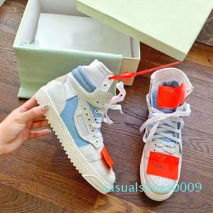 2019top ayakkabı tasarımcısı moda erkek ve kadın yüksek kaliteli deri dikiş düz ayakkabılar rahat ayakkabılar Klasik Yüksek Üst kadınlar shoe35-45 C09