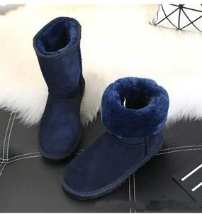 2020 Avustralya Yeni Yüksek Kalite U Kadın Klasik Yarım Boot Kadın çizme Boot Kar botları kışlık botlar deri çizme Ayakkabı ABD BOYUT 5--13 G55