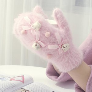 20190909 Cartoon sweet cute mittens for winter warmth