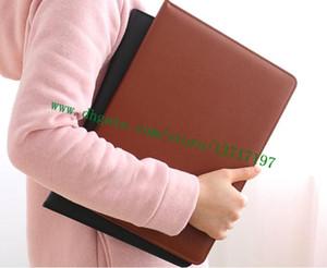 Bestnote Brown Checker Plaid Canvas Beschichtete Echtes Leder R21065 Schreibtisch Agenda Abdeckung Berühmte Designer Damiier Ebenne Kalbsleder Agenda-Halter