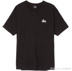 2019Brand дизайнер мужской футболка SSY BASIC Stussy TEE Мужские и женские с коротким рукавом футболки хлопок рубашки для мужчин Прохладный футболки