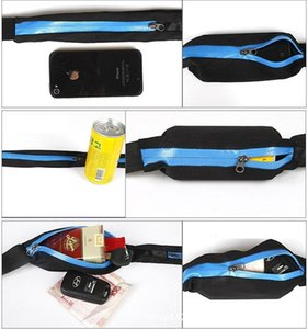 Running Travel Waist Pocket Jogging Sports Portable Fanny Pack Pouch Waterproof Cycling Bum Runner Outdoor Phone anti-theft Pack Belt Bag
