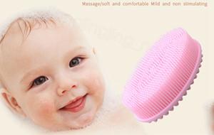 실리콘 아기 목욕 브러쉬 아기 남성과 여성 청소 도구 FFA3265 1 얼굴과 바디 청소 세척 브러쉬 스킨 샤워 도구 샤워 2