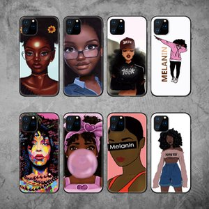 Für Iphone 11 Pro Phone Case Xs Max Xr Mode Cool Girl 6 7 8 X Plus bereifte TPU Soft Cell Phone Cases