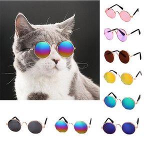 Bella Occhiali Cat Pet Products Occhiali da sole Eye-usura per il piccolo cane domestico del gatto Foto puntelli accessori più venduti Pet Products