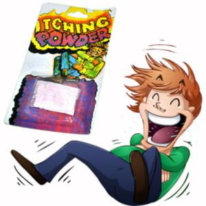 Creative Itch Itching Powder Paquetes Truco broma broma Truco de broma Truco de magia Novedad Niño Adulto Partido de juguete Gadgets divertidos
