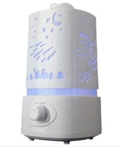 Vendita calda 1500ml umidificatore ad ultrasuoni per la casa diffusore Humidificador creatore della foschia 7Color LED Aroma Diffusore