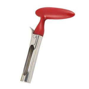 Edelstahl-Apple-Cutter-Messer gezackte Blatt-Frucht Corer Remover Multifunktions-Slicer Schneiden Küchenhelfer Werkzeuge DDA21