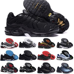 2020 Nike Air Max Tn Shoes New Airmax Tn Plus Schwarz Weiß Air TN Plus Ultra Sports Laufschuhe Günstige Tns Requin Basketball Outdoor-Trainer-Turnschuhe