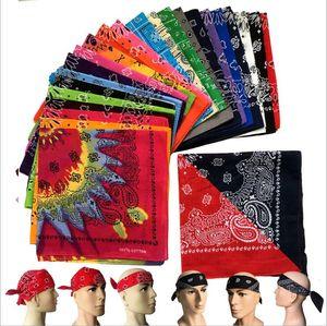 Paisley Bandane Magia Turbante di Hip-hop esterna Wristband giro Anti-UV Mask Ciclismo fascia capo sciarpe moda Danza sportiva Headwear B4967