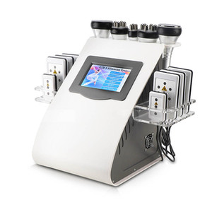 Nuovo arrivo Modello 40k Ultrasuoni liposuzione Cavitazione 8 Pads Laser vuoto RF Cura della pelle Salone Spa che dimagrisce macchina Attrezzature di bellezza
