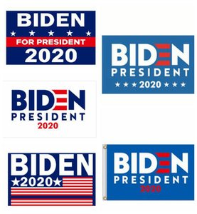 Joe Biden Trump 2020 Flag Brief Unterstützung Oppose Joe Biden Präsident USA 90 * 150cm Big Hanging Trump 2020 Flying Flag 10 Styles 776677