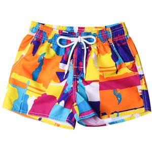 feshion men's shorts for the beach Swim Trunks Quick Dry Beach Surfing Running Swimming Watershort sungas masculinas praia