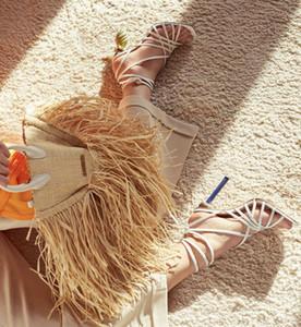 2019 nouvelles femmes célèbres de la bourse sac à bandoulière sac à main sac fourre-tout panier de tissage de paille bateau libre