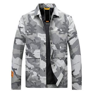 2020 New Style Vestes Hommes Populaire Camouflage Pilot Bomber Jacket Homme Mode Hip Hop Baseball Hommes Manteaux Vêtements Casacos Homem