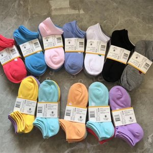 Fashion women Ship Candy Colors Cotton Socks Youth Campus Invisible Breathable Sweat Absorbing and Friction Resistant Socks