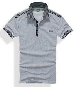 # 824-7 pólo 2020 camisa estilos Verão Men Polos Homens e Mulheres Polos shirt Business casual Sports Moda coreana Magro roupa