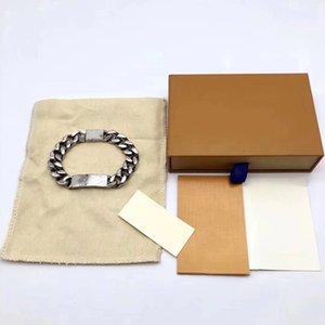 Top qualité Titane Bracelet en acier hommes et femmes Bracelet chaîne personnalité de mode d'alimentation Bracelet Hip-hop