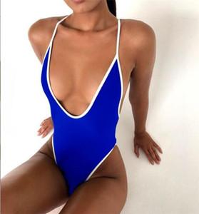 Pescoço Banho Swimsuit One Piece Swimsuit Verão Venda Quente Designer Swimsuits Mulheres Plus Size Swimsuits Sexy Swimsuit V