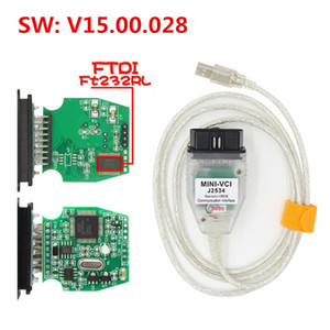 MINI VCI J2534 V14.30.023 FT232RL Chip per TOYOTA OBDII Diagnostic Tool