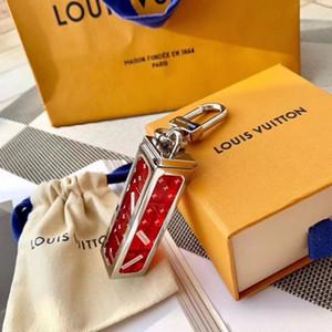 Luxury Fashion Designer Key Chain Letter Dice Combinazione Uomini portachiavi partito delle donne di metallo regalo di disegno di chiave dell'automobile di marchio Portachiavi con Gift Box
