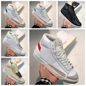 free shipping leather tenis red bottom running trainer luxury triple womens mens white black golden High-top sneakers 2020