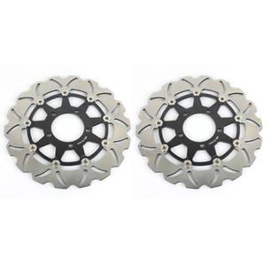 BIKINGBOY delantero Discos de freno Discos de rotores para ZX6R 636 13-19 ZX10R 08-15 ZZR 1400 ZX14R 06-19 GTR 1400 ZG1400 Z 800 1000