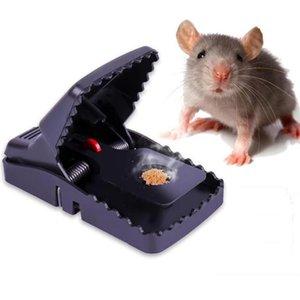 Controlável ratoeira pegando ratos mouse Armadilhas Preto Mousetrap Bait snap Primavera Rodent Catcher Pest Control Ferramenta Para Casa A03