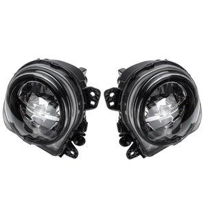 1 Pair LED Light Car Front Fog Light Lamp LED with Bulds for 5 Series F07 F10 GT F11 F18 LCI 535I 528I 550I 2013 2014 20