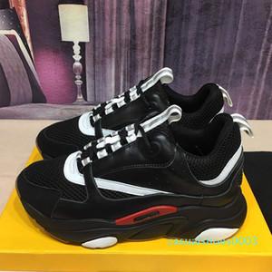 2020 B22 B23 Zapatos de piel de becerro Formadores Hombres top cestas de alta gama viejos zapatos ocasionales de las mujeres planos de la lona zapatillas de deporte 35-46 c03